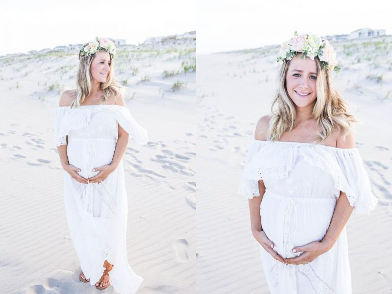 long-beach-island-maternity-photo