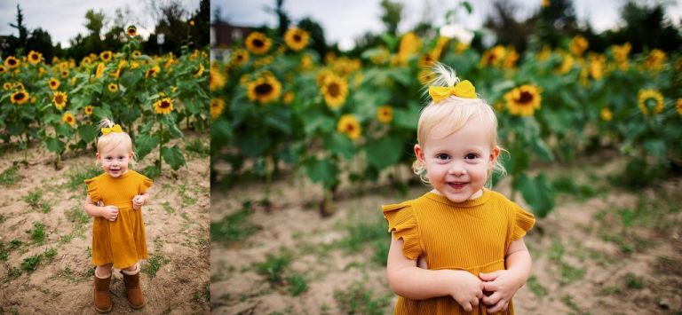 South Jersey Sunflower Family Photography